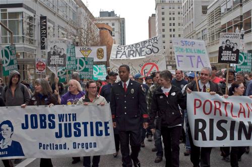 portland rising march