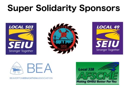 Super Solidarity Sponsors