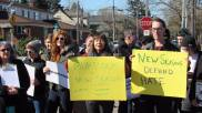 New Seasons workers rally to stop the Murdock Charitable Trust, which funds hate groups, from investing in and profiting off of New Seasons success.