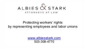 Albies & Stark Business card ad