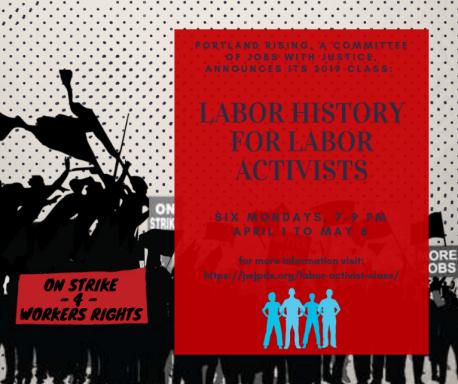 Labor Activists class