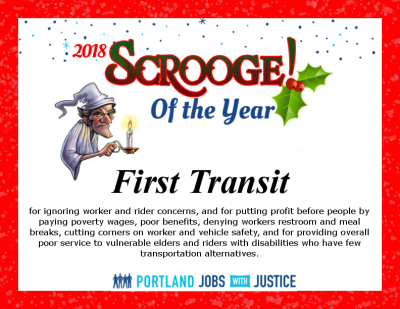 first transit scrooge award