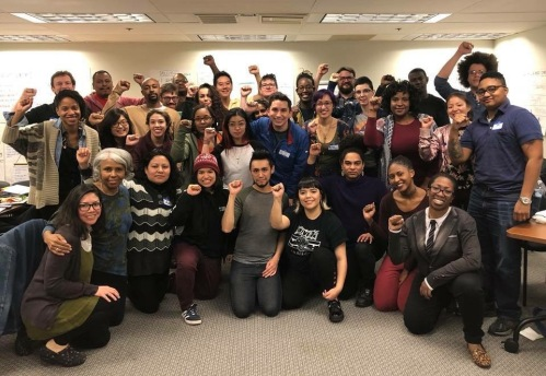 jwj poc leadership in organizing training cohort march 2018