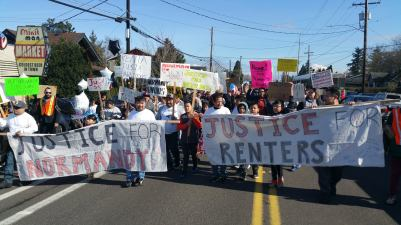 renters march